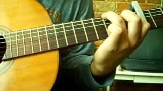 Hijo de la luna - instrumental guitarra