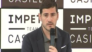 Casillas desea que gane la 'Champions' el Real Madrid