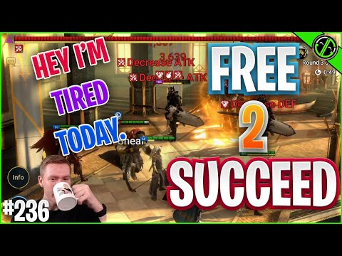 I Guess It's Time To Start Pushing These New Dungeons... | Free 2 Succeed - EPISODE 236