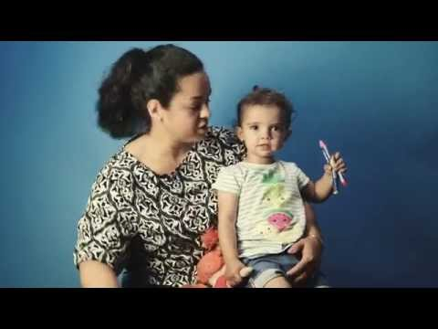 Selma 2 år är förtegen om sitt drömhus