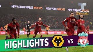 Wolverhampton vs. Liverpool: 1-2 Goals & Highlights   Premier League   Telemundo Deportes