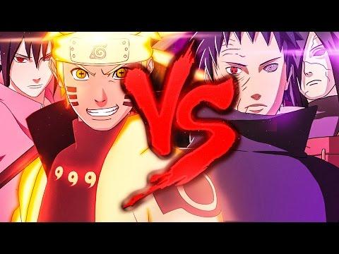 Download Lagu Naruto E Sasuke VS. Madara E Obito | Duelo De Titãs