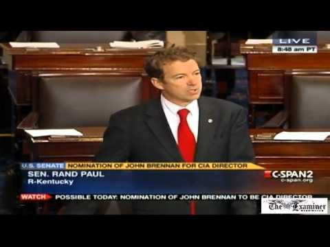 Thumbnail for How Rand Paul's filibuster on drones unfolded