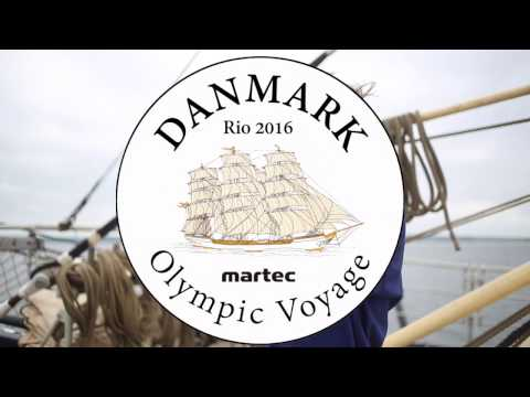 Skoleskibet DANMARK - from Frederikshavn to Horsens - Olympic Voyage 2016