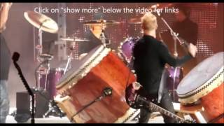 "Metallica all members ""drum jam"" on ""Now That We're Dead"" - Living Colour new album Shade!"