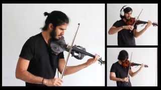 Sweet Child O' Mine - Guns - Slash guitar solo - Violin cover