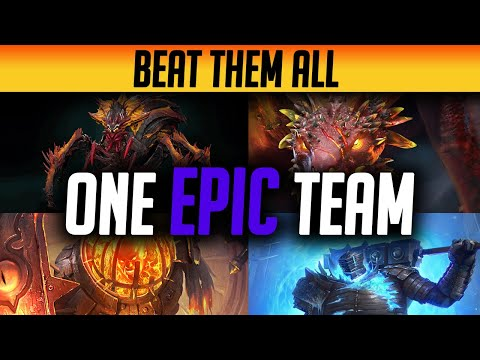ULTIMATE EPIC TEAM TO BEAT ALL LEVEL 20 DUNGEONS! NO LEGENDARIES & NO JEWELRY | Raid: Shadow Legends