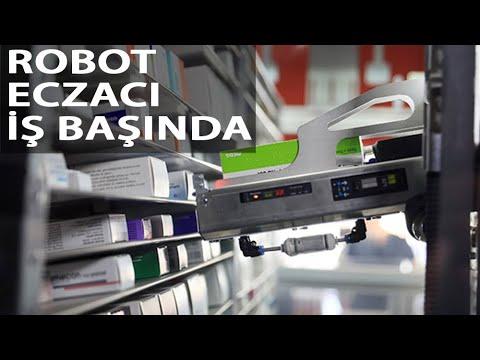 'Robot eczacı' işbaşında