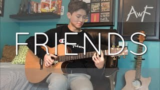 Friends - Marshmello & Anne-Marie - Cover (Fingerstyle guitar)