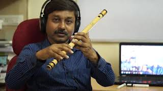 HAPPY BIRTHDAY ON FLUTE IN HINDI   MILIND DANGRE  FLUTE LESSONS