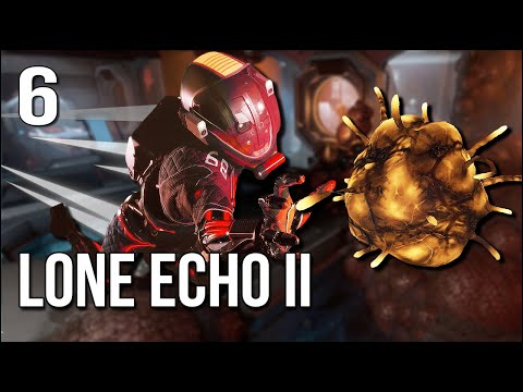 Lone Echo 2   Part 6   Collecting WAY, WAY Too Much Biomass