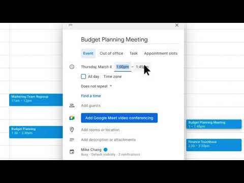 How to Create a recurring event in Google Calendar