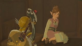 Zelda: Breath of the Wild - Link getting rejected by a girl named Aliza