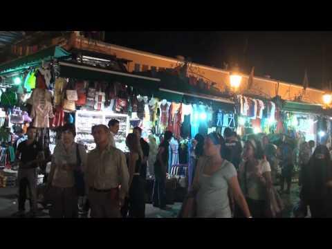 Morocco Marrakesh Jemaa el Fna Square At Night Ennio 2011