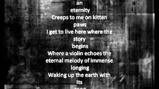 Nightwish Taikatalvi english lyrics