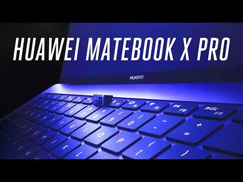 Huawei Matebook X Pro first look