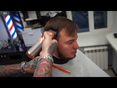 Short Choppy Haircut Refined Scissor Haircut FADE TUTORIAL Мужская стрижка photo