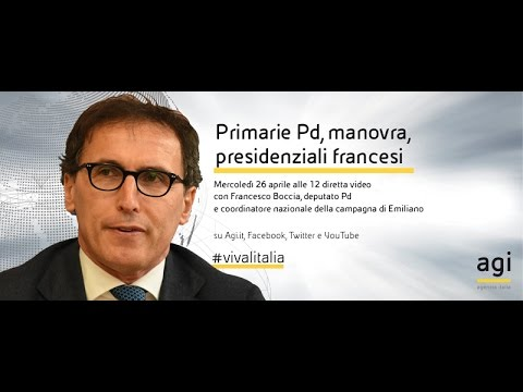 #vivalitalia con Francesco Boccia