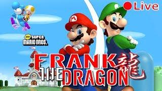Mario Bros Wii | Live Game-Play | Letsa Go!!!