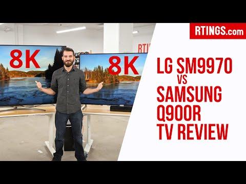LG SM9970 vs Samsung Q900R: 8K TV Review - RTINGS.com