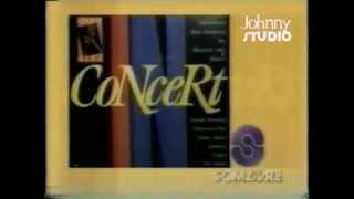 """Comercial do LP """"In concert"""" (1990)"""