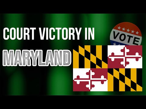 NEW: JW ELECTION INTEGRITY VICTORY IN MARYLAND!