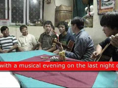 Last night party singing