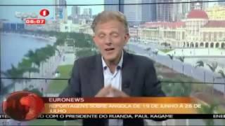 Euronews emite reportagens sobre Angola