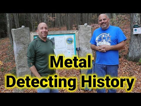 Metal Detecting With Marc - Looking for Clues to an Historical Cold Case