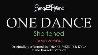 One Dance (Piano karaoke demo) Drake, Wizkid & Kyla