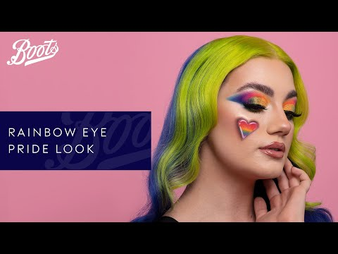 boots.com & Boots Voucher Code video: Make-up Tutorial | Pride Rainbow Eye With Tiffany Hunt | Boots UK