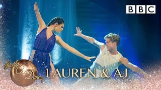 Lauren Steadman & AJ Pritchard Contemporary to Runnin' (Lose It All) - BBC Strictly 2018