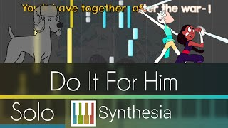 Do it for Him/Her - Steven Universe - |SOLO PIANO COVER w/LYRICS| - Synthesia HD