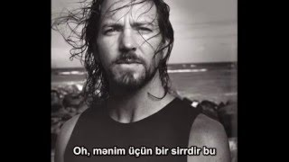 Eddie Vedder - Society (Azerbaijan Translate)
