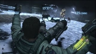 Resident Evil 6 Mercenaries Mining the Depths Solo 1380k / 東欧 採掘場
