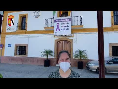 25N Diputación de Cádiz. Acción conjunta contra la violencia machista. Algar