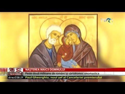 Naşterea Maicii Domnului şi tradiţii populare de Sfânta Maria Mică