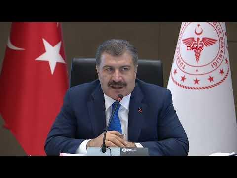 Sağlık Bakanı  Koca ve Prof. Dr. Uğur Şahin açıkladı! 120 milyon doz için anlaşıldı