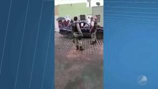 Falso doente: homens usam carro de som para pedir dinheiro e comida em Heliopólis/BA