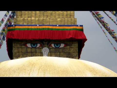 SANY0744.MP4 BoudhaNath Stupa Movie