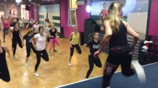 Sanja Kocic, hi low aerobics