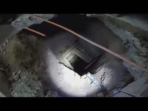 La policía encontró un túnel, PERO de repente se detuvieron cuando vieron lo que había al otro lado