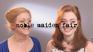 Noble Maiden Fair   a cover with my mum