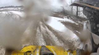 GO PRO HERO 2 IN SAND PITS WITH CAN AM RENEGADE 800'S