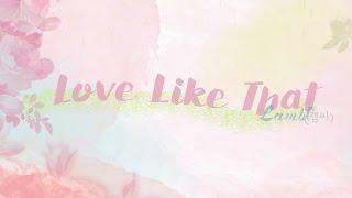 [THAISUB] LambC (램씨) - Love Like That