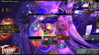 Mythic Nighthold - Chronomatic Anomaly - Brewmaster Monk PoV