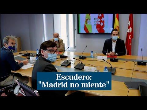 """Escudero: """"Madrid no miente"""""""
