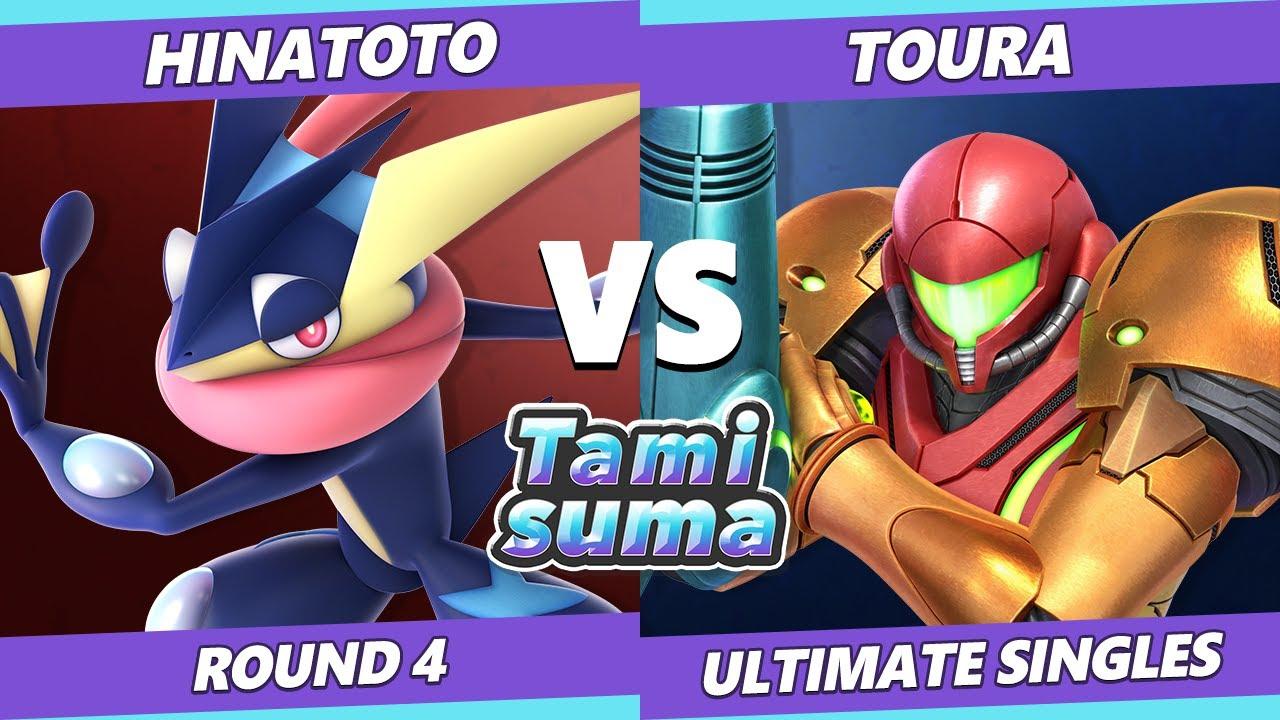 VGBootCamp - TAMISUMA 219 Round 4 - Hinatoto (Greninja) Vs. Toura (Samus) SSBU Smash Ultimate
