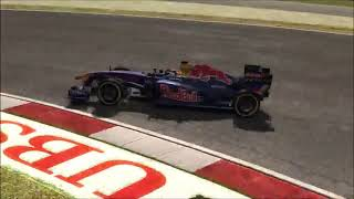 F1 2011 Hotlap (istanbul) with setup, Music: megurine luka can you feel the purple truth.