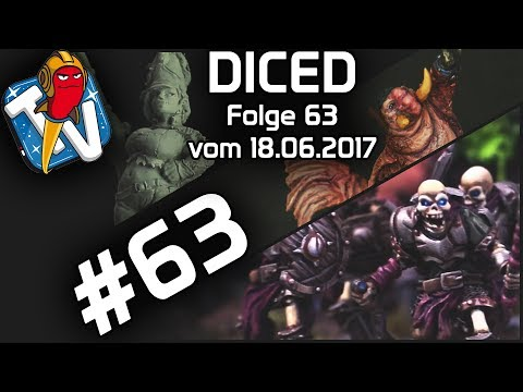 DICED - Die Tabletopshow auf Rocketbeans TV # 63 | Runewars | Freebooters Fate | DICED